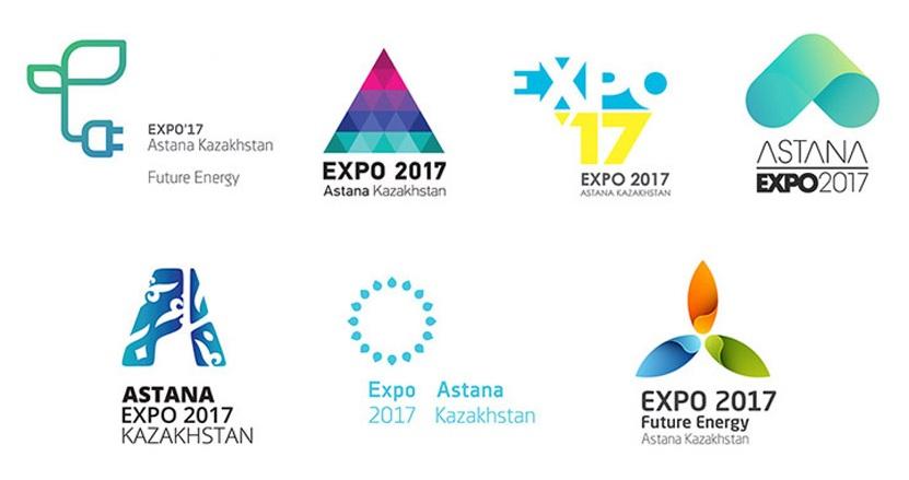 7 Logos der Expo 2017 für Abstimmung
